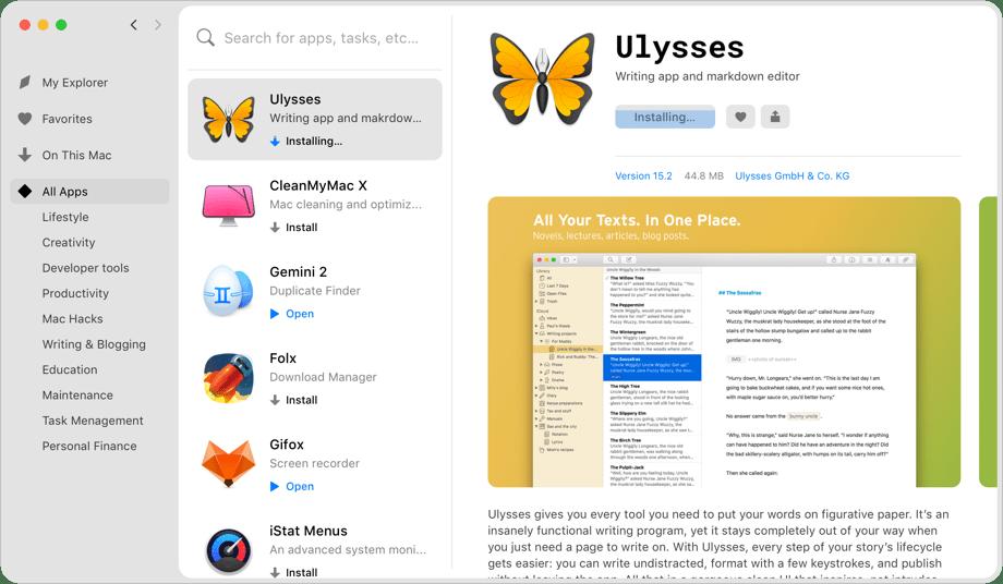 Instale quantos apps desejar